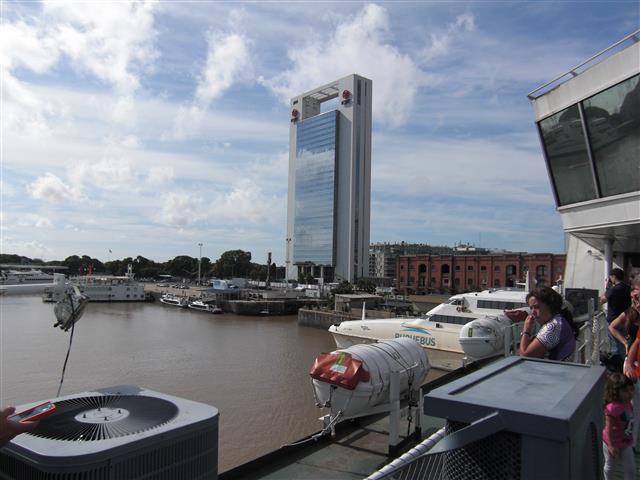 Buenos Aires vom Schiff