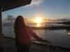 Sonnenuntergang auf dem Schiff 2