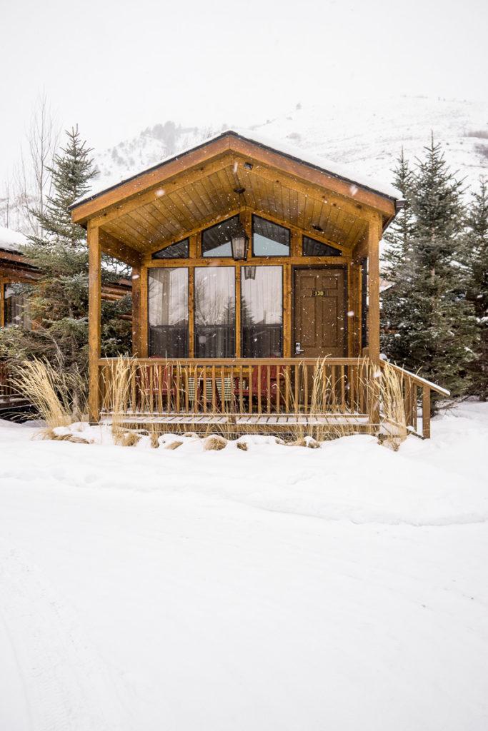 Jackson Hole Wyoming, Rustic Inn, Winter travels