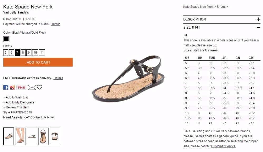 Kate Spade New York Yari Jelly Sandals - SHOPBOP_小樂圖客_截圖 (1)