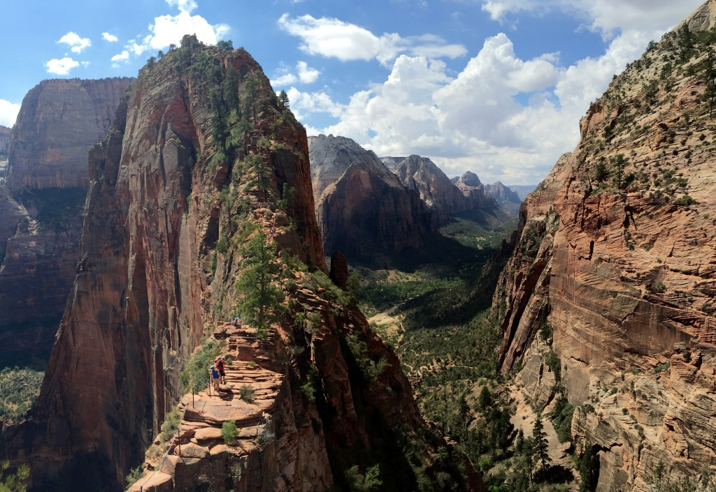 Keke Zion Scout Overlook Angels Landing Hike