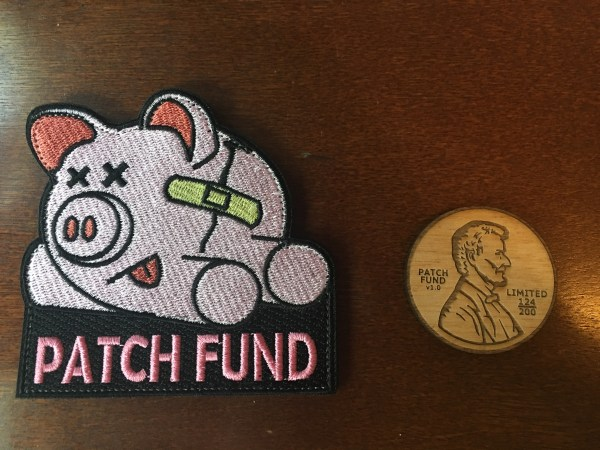 Piggy Patch Fund Patch