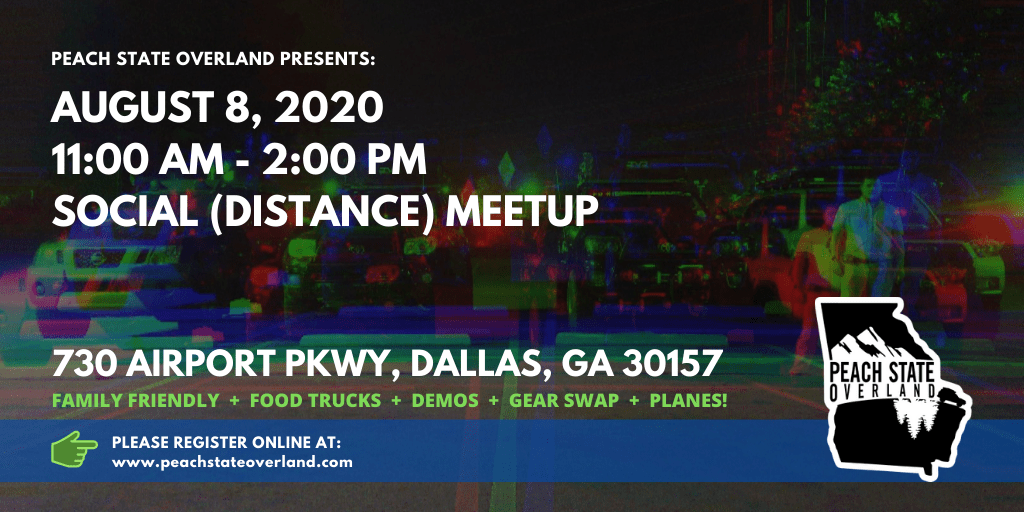 Overland Social (Distance) Meetup - Aug 8, 2020