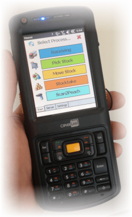 Paperless Warehousing Hand Held PDA