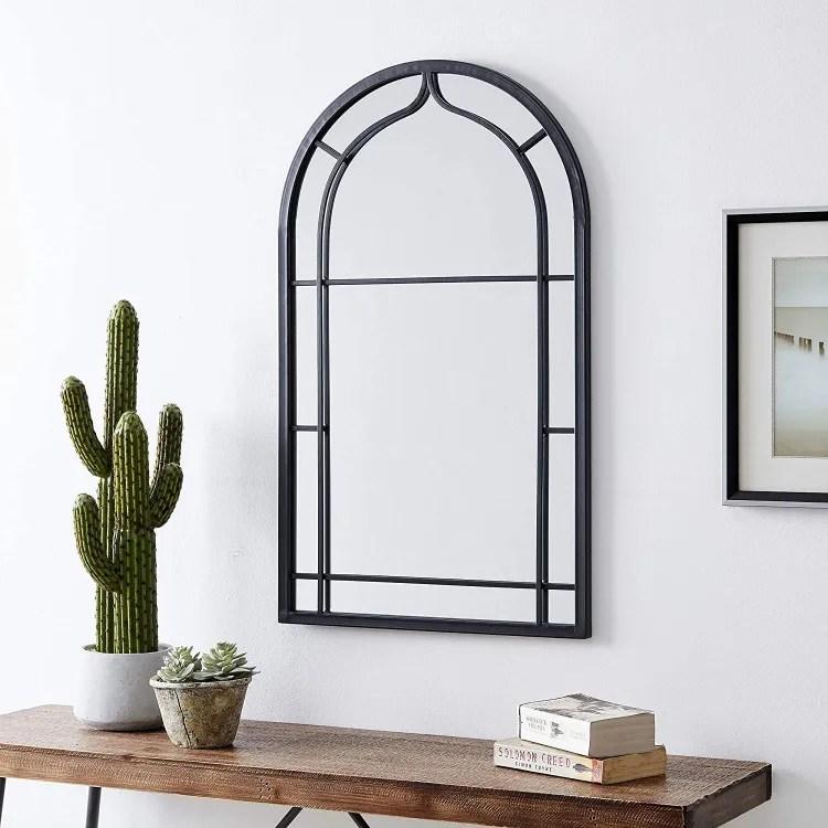 Arch Metal Mirror   Peachy Shop