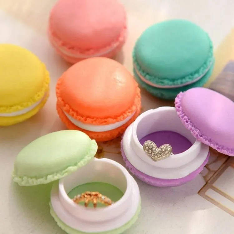 Mini Macaron-Shaped Storage Box | Peachy Interiors