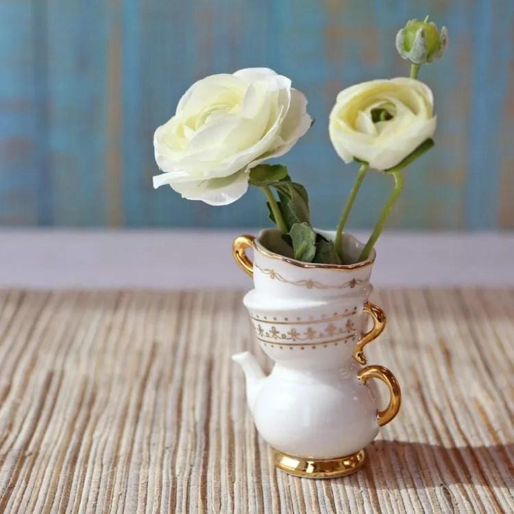 Tea Bud Vase | Party Favour | Peachy Shop