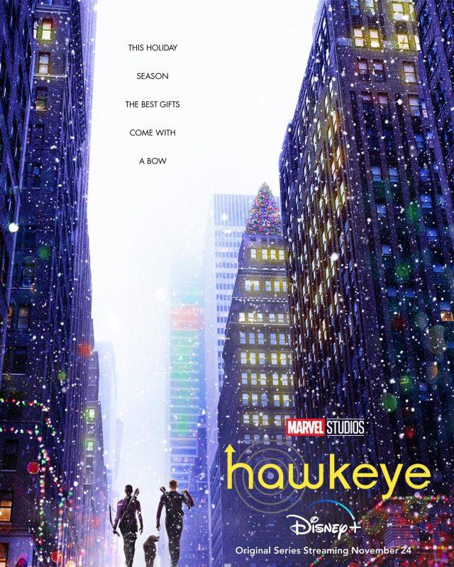 Hawkeye - Christmas Poster - Disney+