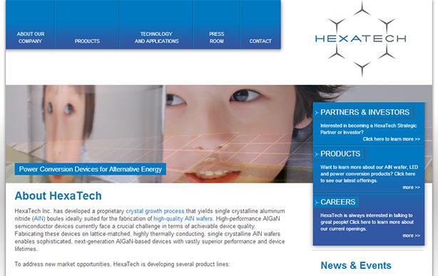Hexatech Website
