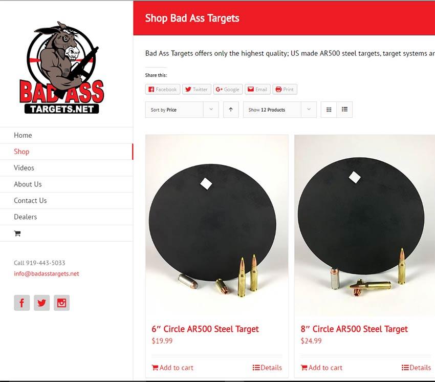Bad Ass Website and Logo Design
