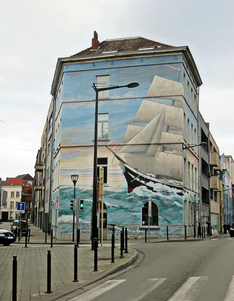Street Art Brussels Belgium by Olivier Schopfer