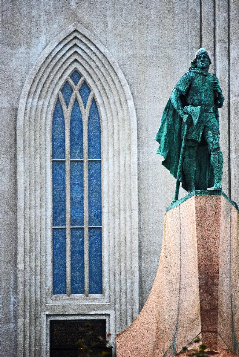686-1-Reykjavik, Iceland, Hallgrims Kirkja by Keith Moul