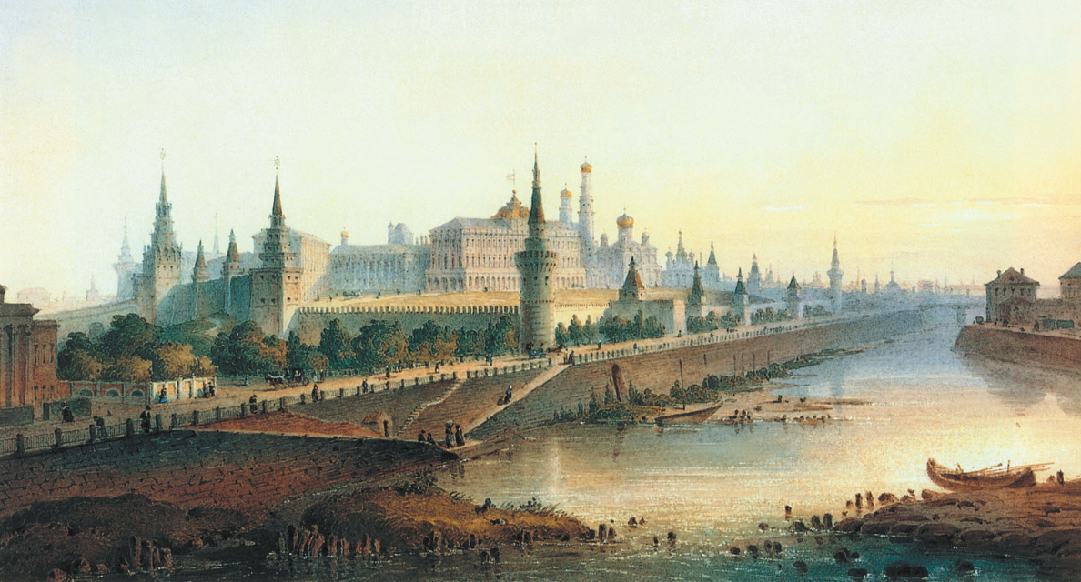 Katherine E. Young – Five Poems about Moscow
