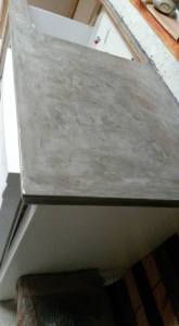Cement counters