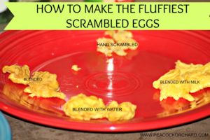 How to Make the Fluffiest Scrambled Eggs