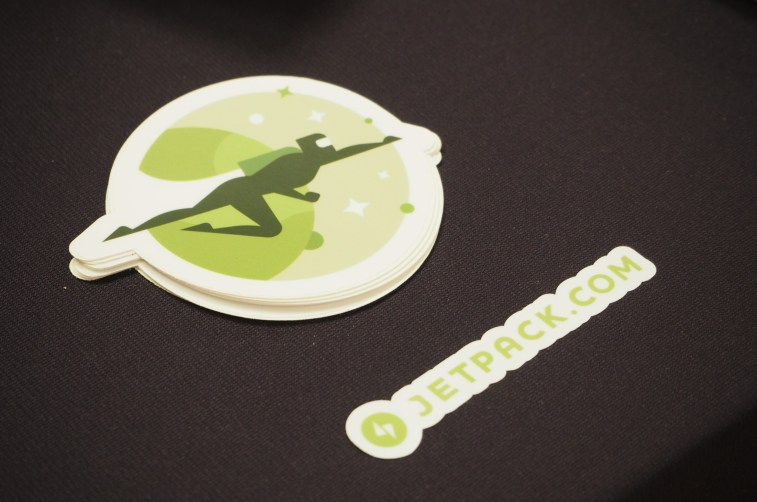 Jetpack stickers