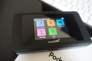PocketWiFi Main Menu