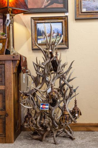 970 antler Christmas tree