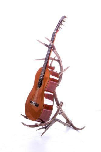 90 elk and mule deer antler guitar stand