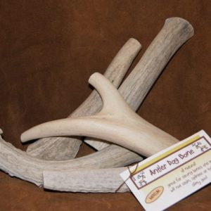 antler dog bone chew medium