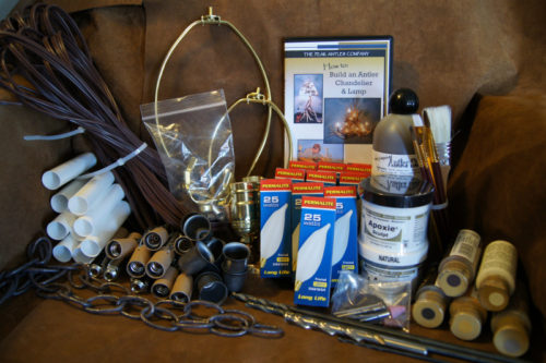 antler chandelier kit The Ultimate Supply Kit to Make an Antler Chandelier