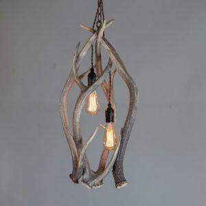 mountain modern antler chandelier pendant