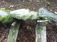 Richard Harris sculpture at Grizedale
