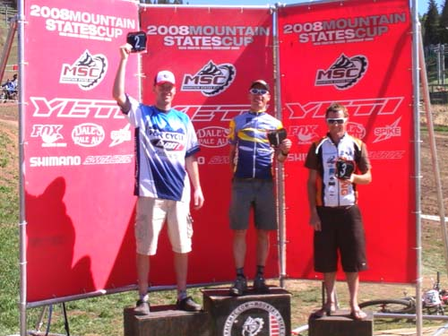 Angel Fire Mountain States Cup Podium Team BikeParts.com