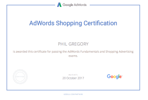 Adwords Certification