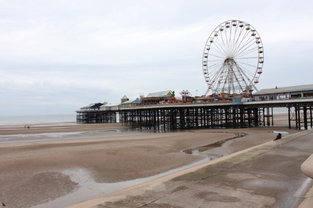 Central pier, all the usual amusements that you would see at a show, shooting galleries, clowns, rides and inside the centre all the new high tech games