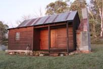 Broken Dam Hut - rebuilt in 2007.