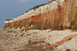 The amazing cliffs of Hunstanton