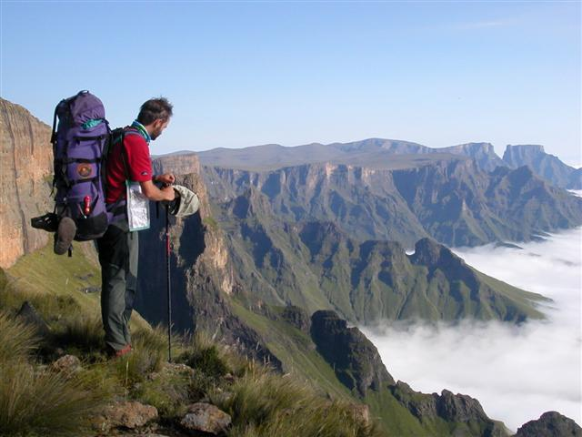 North Drakensberg Africa Mountain