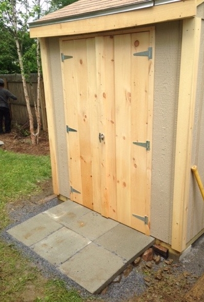 A Shed Pad In The Making