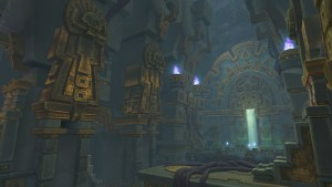 The interior of the dungeon King's Rest
