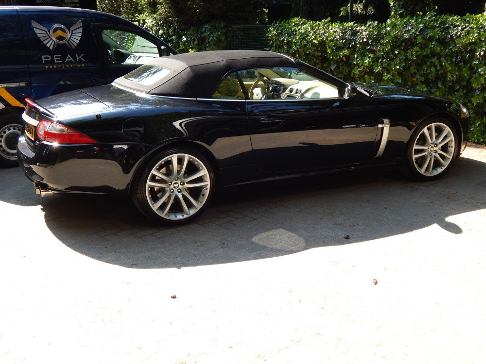 Peak Perfection Auto Detailing Jaguar XK-R