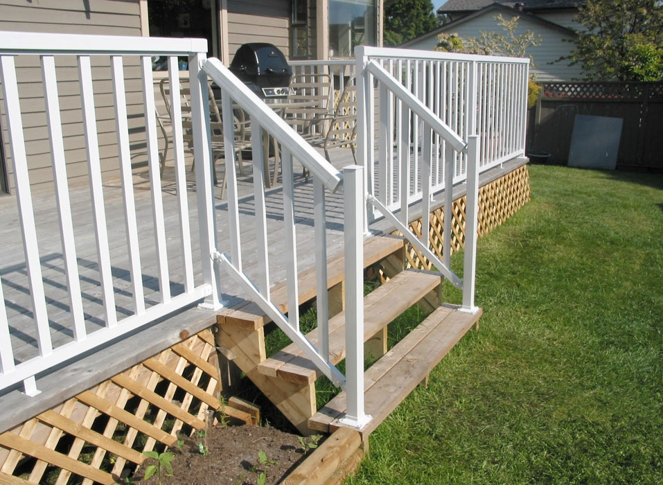 Diy Outdoor Aluminum Railings Peak Aluminum Railing   Aluminium Handrails For Stairs   Guardrail   Exterior   Wood Wall Mounted Stair   Copper   Glass Balustrade