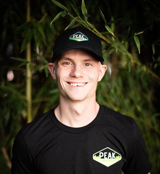 Peak Sodding Owner Ben Schneider