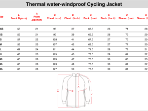 Thermal water-windproof cycling Jacket
