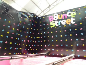 Bounce Street 11m x 5m Design by P2P. Build by IA