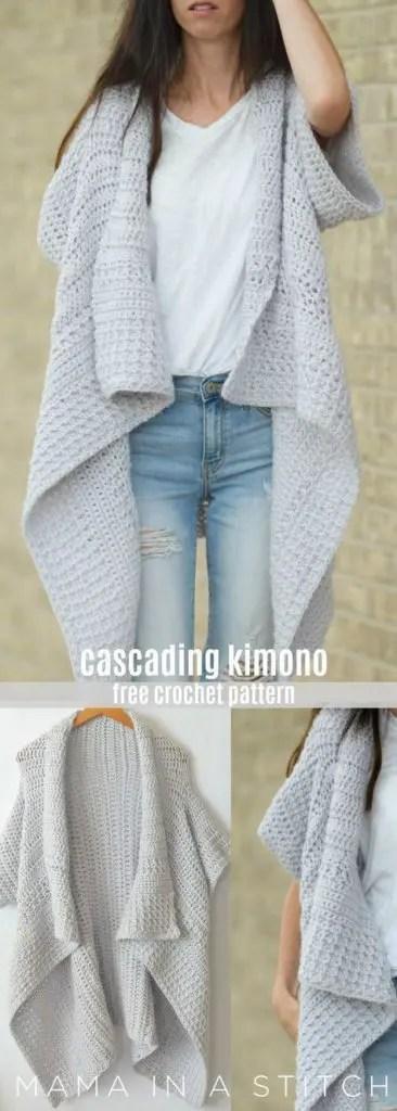 Crochet Sweater free patterns - Womens Clothing -