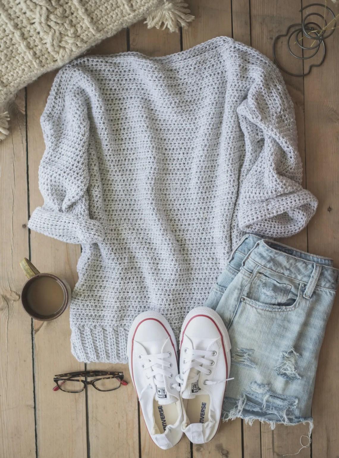 Crochet Sweater Free Patterns Womens Clothing Peanut And Plum