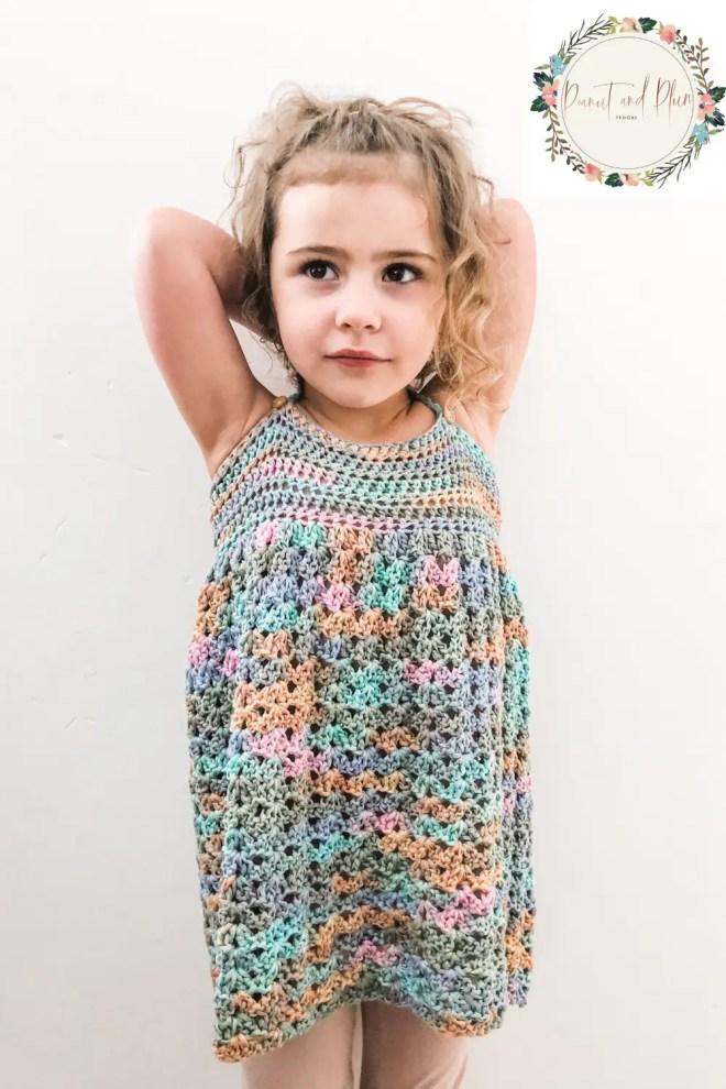 Peanut and Plum - robe en crochet otton