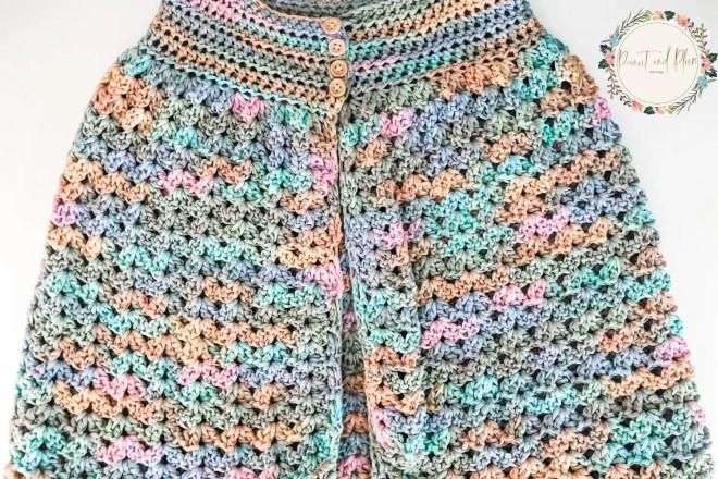 Robe au crochet en coton - Patron gratuit
