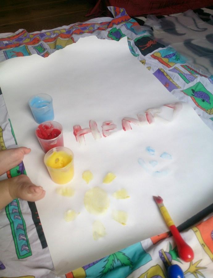 'Edible' paint!