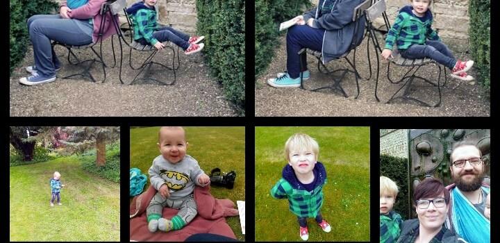 Our Egg Hunt at Rockingham Castle