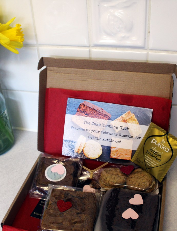 What was in my February Cake Tasting box?