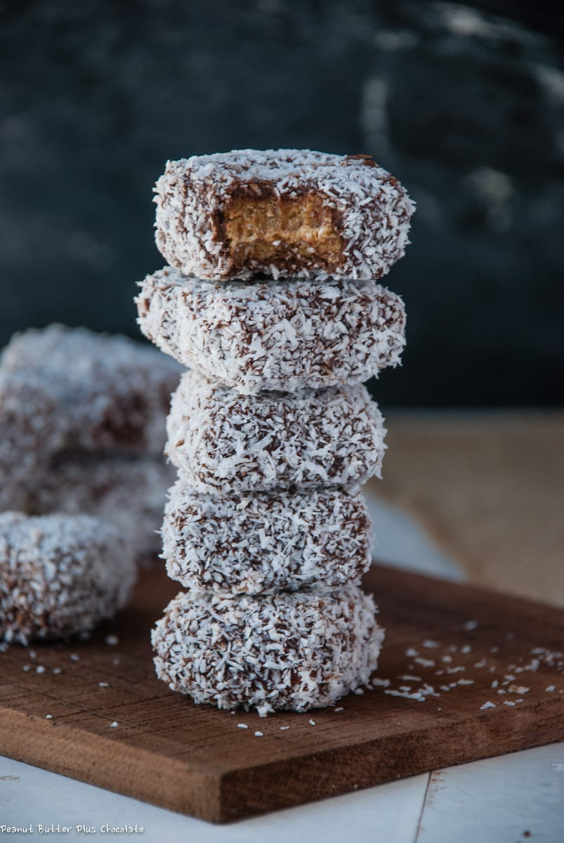 Healthy Chocolate Coconut Covered Date Candies