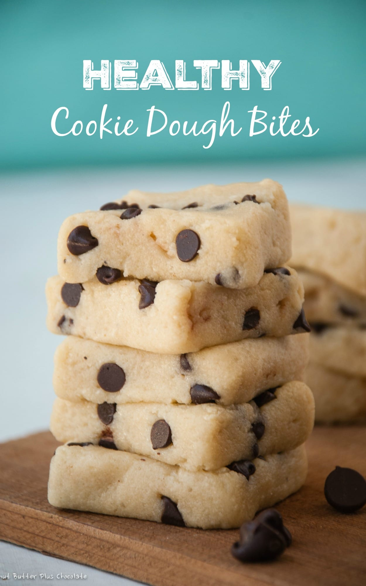 Healthy Chocolate Chip Cookie Dough Bites