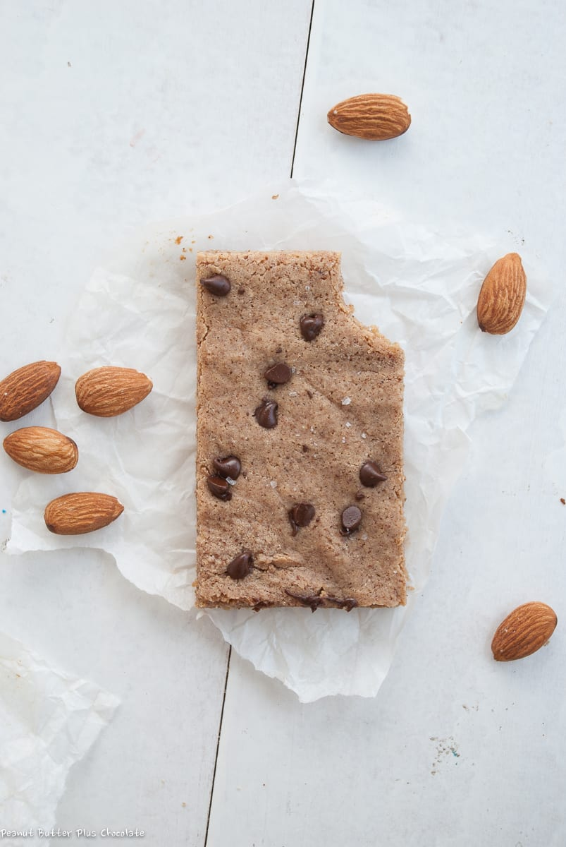 Healthy Almond Butter Protein Bars